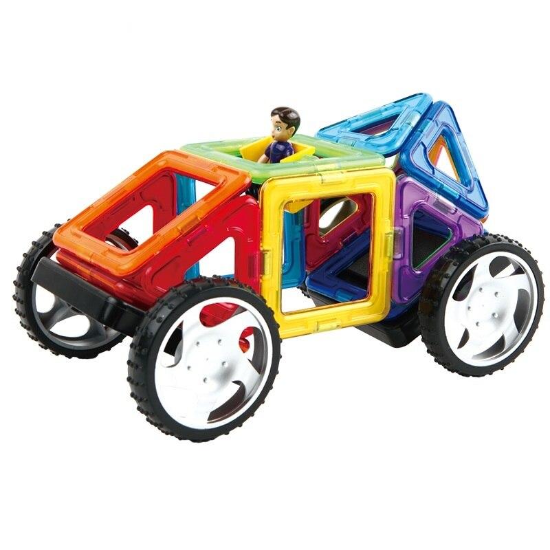 16PCS Magnetic Designer Construction Set Model&amp; Building Toy Plastic Creative Magnetic Blocks Educational Toys For Kids Gift<br><br>Aliexpress