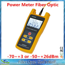 JoinWit JW3208A Portable -70~+3dBm Fiber Optic Power Meter used in Telecommunications