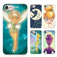 Tinkerbell little prince Clear Cell Phone Case Cover for Apple iPhone 4 4s 5 5s SE 5c 6 6s 7 7s Plus