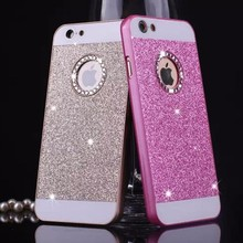 Buy Luxury diamond bling case coque etui apple iphone 5 5s SE 6 6s plus 7 7 Plus glitter bling cover capa carcasa iphone 7 for $2.79 in AliExpress store