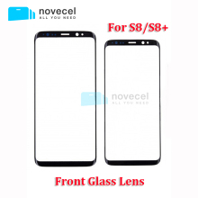 Good quality LCD Outer Glass Panel Front glass lens for S8 / S8+ LCD touch screen glass replacement for S8 G950/S8 Plus G955(China)
