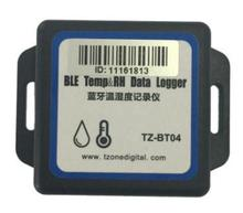 Bluetooth Low Energy temperature and humidity data logger Android and iSO