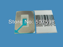HZSECURITY, 40x30mm RF soft label, 20000PCS per lot, suitable with all eas systems RF 8.2mhz(China)