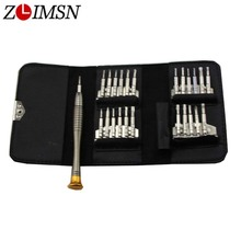 ZLIMSN Precision Torx Screwdriver Set Cell Phone Watch Repair Tools Kit Wallet Type Fashion Protable Watchmaker