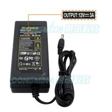12v 3a power adapter Free Shipping 1pcs 100% new certified desktop AC 100-240V to 12 volt transformer 36W block power converter