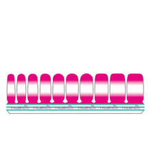 1 Set =  Nail Patch+Nail File +PINK&PINK + Full Nail Sticker Nail Decorations for Manicure