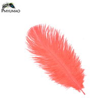 PMYUMAO Colorful Ostrich plumes Beautiful Party Decorating Feathe About 15-20cm Natural plume 10pcs colorful Ostrich Feathers