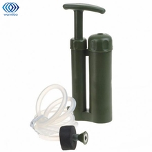 Camping Mini Portable Water Purifier Outdoor Survival Hiking Soldier Military Water Filter Military Water Filters Survival Kits(China)