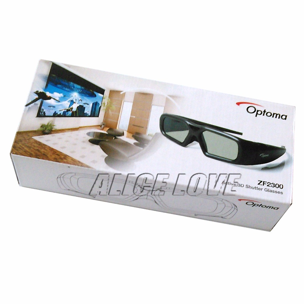 Free shipping Original ZF2300 Active RF 3D Glasses For Optoma RF Projector No Emitter Included <br><br>Aliexpress