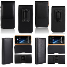 Holster Case For Doogee X5 Pro X6 X5 X5S Belt Clip Cover Leather Pouch Universal Mobile Phone Bag Case For Doogee X5 Max Pro X6