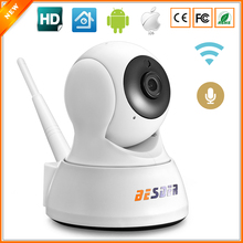 BESDER Home Security IP Camera Wi-Fi Two Way Audio SD Card Slot Mini Surveillance CCTV Camera Wireless 720P 1.0MP Baby Monitor(China)