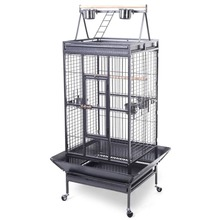 2016 Style Bird Cage Large Play Top Parrot Finch Cage Macaw Cockatoo Pet Supply PS5338New(China)