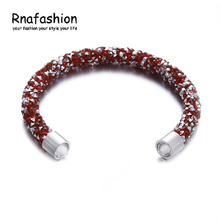 Bracelet & Bangles For Women Girl Crystal Acrylic Fashion Jewelry Bracelets Diy Top Quality Pulseira Masculina Buy 2 Get 1 Free