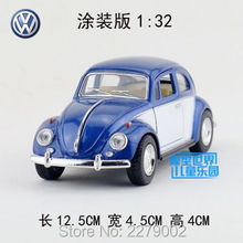 KINSMART Die Cast Metal Models/1:32 Scale1967 Volkswagen Classical Beetle (Color Door) toys/for children's gifts or collections