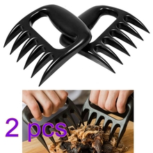 2pc/Pair BBQ Bear Paws Claws Meat Tool Handler Fork Tongs Pull Shred Pork BBQ Shredder Kitchen Cooking Tools   VHE76 P25
