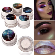 Buy 2018 New HANDAIYAN Glitter Eye Shadow Shimmer Cosmetic Eyes Makeup Pigment Woman Make Eyeshadow Party Daily Makeup FM88 for $1.76 in AliExpress store