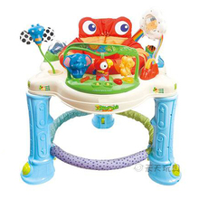 Rainforest Jumperoo Baby Walker Bouncer Rocking Chair Activity Walker With Discovery Center Baby Activity Center