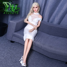 Buy European style Sex doll 158cm TPE real dolls sex chest pussy vagina sexual products masturbation doll love adult toys