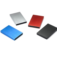 2016 new aluminum black silve red blue for 2.5 '' HDD to IDE hdd case usb 2.0 hdd enclosures hard disk box for 1TB hdd U25YA-IDE