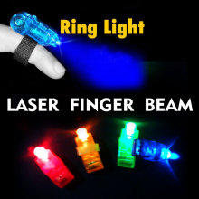 20PCS Free shipping,4 color LED finger light,Leaser finger lamp,chrismas night light,flashing children toy, party toy