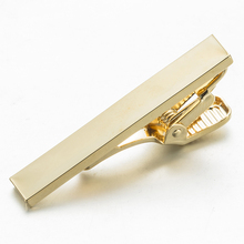 VAGULA New Plated Gold Tie Bar Wedding Groom necktie Pin Business Corbata Short Tie Clip 4cm Length(China)
