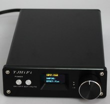 STA326 OLED 2.0 channel digital power amplifier Class D DC24V-32V Stereo Audio Amplifier 2x50W