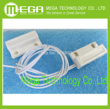 10pairs= 20pcs MC-38 MC38 Wired Door Window Sensor Magnetic Switch Home Alarm System normally closed NC