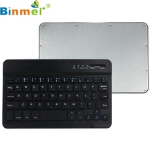 Binmer Mecall Tech Ultra Slim Aluminum Wireless Bluetooth Keyboard For IOS Android Windows PC