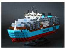 Lepin 22002 1518Pcs Technic Series The Maersk Cargo Container Ship Set Building Blocks Bricks Model Educational Toys Gift 10241(China)