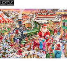ZOOYA 5d diy diamond embroidery child in Christmas diamond painting Cross Stitch full square Rhinestone mosaic decoration