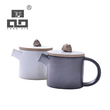TANGPIN coffee and tea sets black crockery japanese teapot ceramic kettle chinese tea pot japanese tea set drinkware