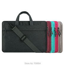 "11""13.3""15.4""15.6"" Canvas Laptop Tote Bag PC Shoulder Sling Case For Macbook HP Lenovo"