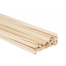 1Pack Bamboo Stick Natural Wood Bamboo Sticker BBQ bamboo skewers Outdoor Camping Disposable bamboo Sticks BBQ Tools 30CM*3MM