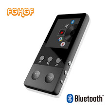 FGHGF New Metal Bluetooth MP4 Player 8GB 1.8 Inch Screen Play 50 hours with FM Radio E-book Audio Video Player Portable Walkman(China)