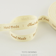 FREE SHIPPING 1.5CM width cotton ribbons mini.order is $5 (mix order) Zakka handmade label TOTO sewing accessory sewing tapes(China)