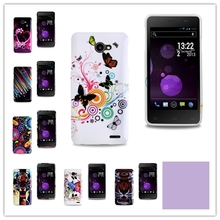 1 Pcs ! High Quality Soft Butterfly Flower Design Cell Phones Case Back Cover Skin For FLY IQ 4403