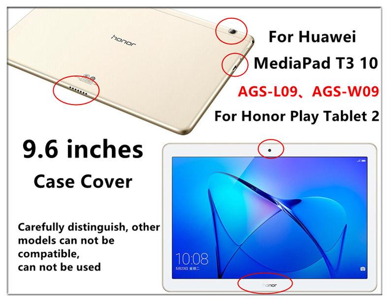Case For Huawei Mediapad T3 10 Wireless Bluetooth Keyboard Case