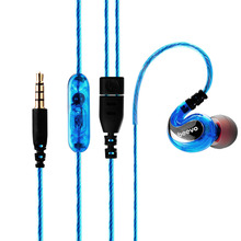 NewestColorful Original Beevo EM390 Extra Bass Headphones With MIC Turbo Sports Earphone