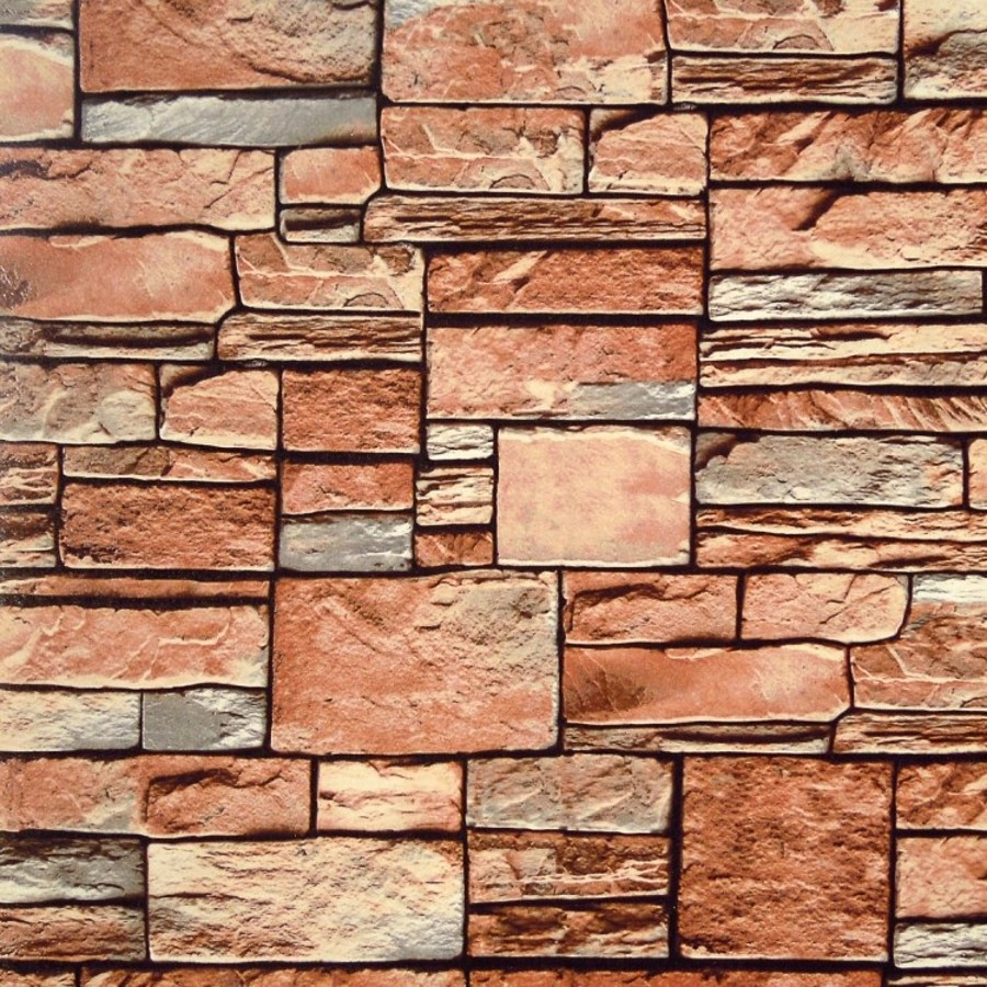 beibehang papel de parede Effect Natural Emboss Stack Stone Brick Vinyl  for walls 3d wall paper Living Room TV Background<br>
