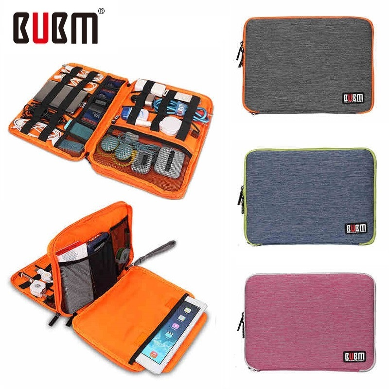 BUBM Brand Digital Accessories Storage Bag,Cable Organizer, Hard Drive Disk USB Flash,Case For ipad Air 9.7 Tablet Free Ship<br><br>Aliexpress