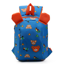 Anti Lost School Bag for Kids Children Backpack Aminals Kindergarten School Bags for 1-3 Years Boys Girls Bear Toddler Backpack