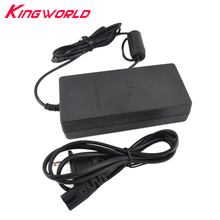 20pcs High Quality US Plug AC Adapter Charger Cord Cable Supply Power For PS2 Console Slim Black(China)