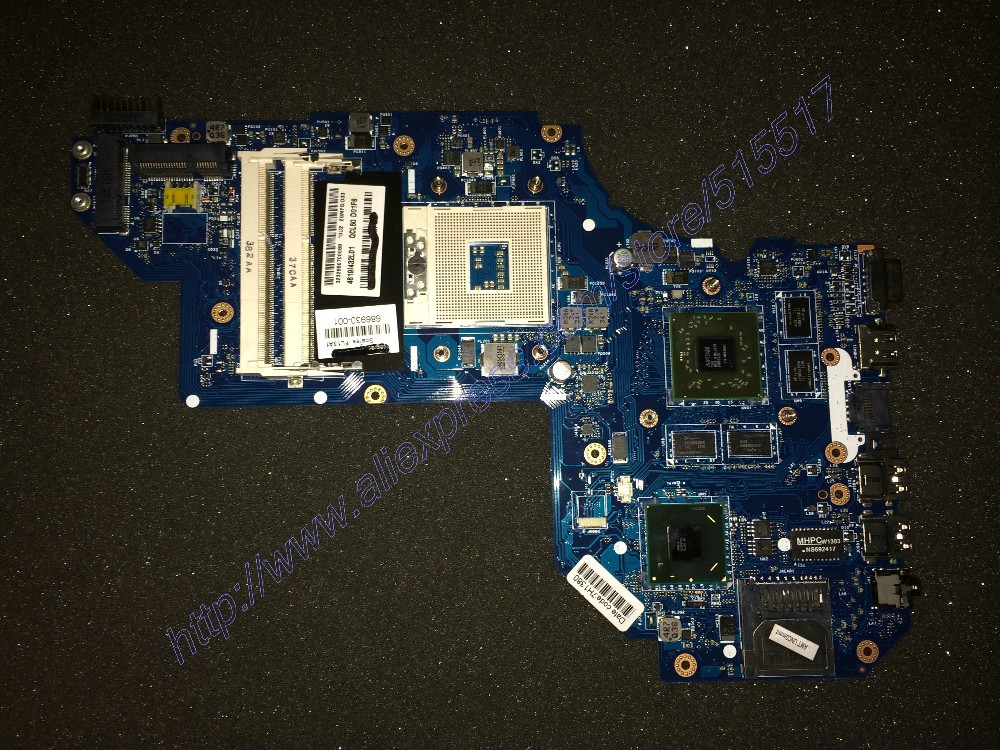 698399-001 686930-001 Notebook Motherboard For Hp Pavilion M6 QCL50 LA-8711P, Free Shipping<br><br>Aliexpress
