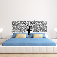 Art Decor Tree of Life wall sticker 3D Vinyl Plant Headboards DIY decal house decoration for Bedroom kids room
