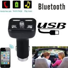 High Quality  car-styling  Bluetooth Car Kit MP3 Player FM Transmitter Wireless Radio Adapter USB Charger