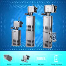 Mini 3 in 1 Multi-function Aquarium Filter Submersible Pump, Aquarium Purifier Water Quality Tank Filter water pump add Oxygen(China)