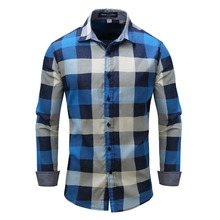 Buy Fredd Marshall Long Sleeve Men Casual Shirts Fashion Striped Plaid Shirts Mens Dress Shirt Brand Casual Denim Style Shirts for $23.48 in AliExpress store