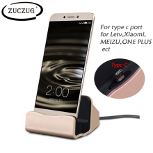 Type-C Sync Stands Dock Cradle Station Charger For Samsung S8 Plus Xiaomi Mi5 LeEco Le 2 Le Pro 3 Le Max Huawei P10 USB-C Charge