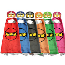 Ninja Capes with masks Pretend Play Ninjago BirthdayParty Favor Inspired Dress Up Capes with Masks