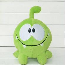 "kawaii 7""20cm om nom frog plush toys cut the rope Soft rubber cut the rope figure classic toys game lovely gift for kids(China)"
